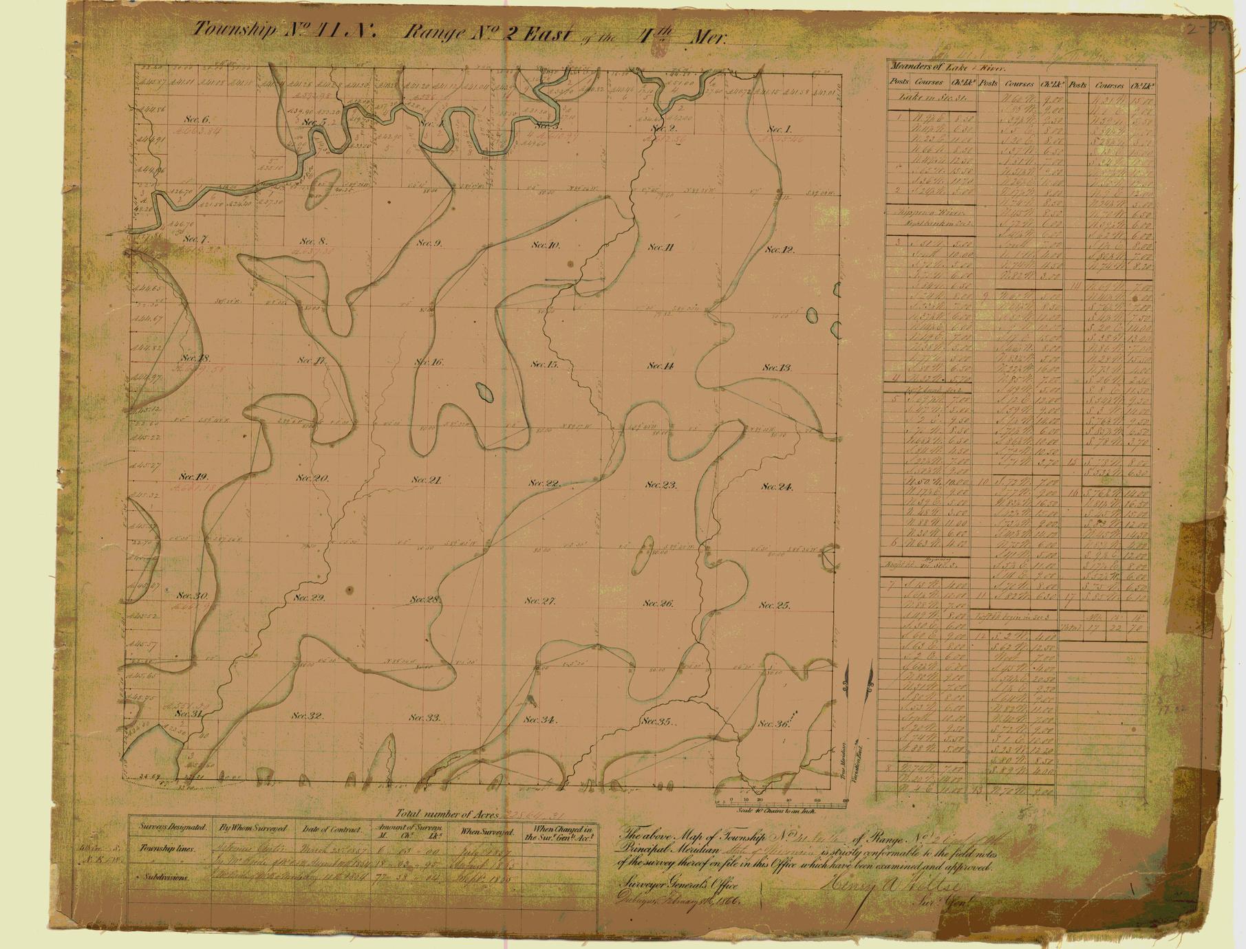 [Public Land Survey System map: Wisconsin Township 41 North, Range 02 East]