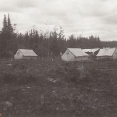 Camp at Connor's Lake