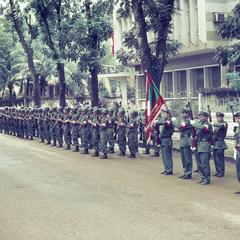 Pathet Lao honor guard
