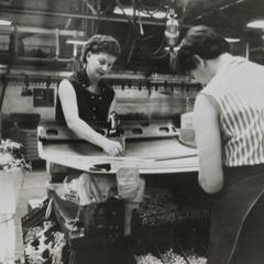 American Motors Corporation Rambler on the assembly line