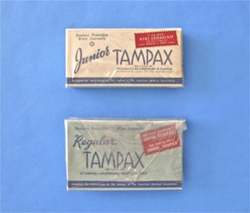 Tampax sanitary protection