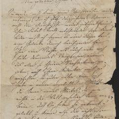 [Letter from niece Julie to her uncle Karl, October 9, 1832]