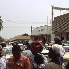 Nigerian Airways building on Lebanon Street