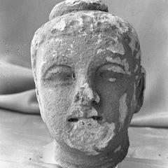 NG472, Stucco Head of Buddha