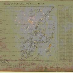 [Public Land Survey System map: Wisconsin Township 42 North, Range 07 West]