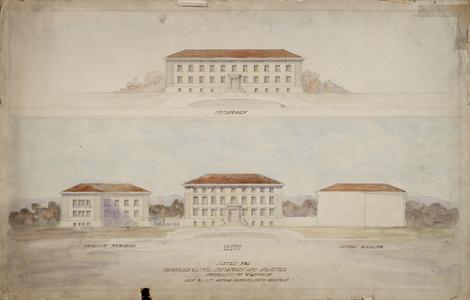 Plan, medical buildings, 1931