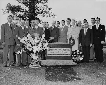 Bunny Berigan's monument dedication