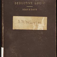 Elements of deductive logic