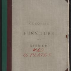 Colonial furniture and interiors