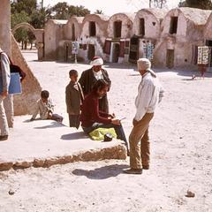 Gorfas Town in Medinine, Southern Tunisia