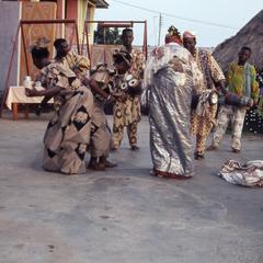 Dancing at masquerade