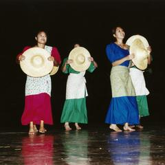 Female Filipino American dancers at 2000 MCOR