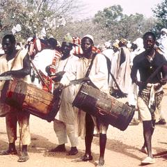 Musicians from Local Towns at Big Sallah Celebration in Katsina
