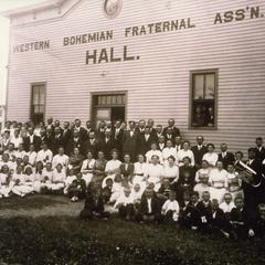Western Bohemian Fraternal Association Hall and Bohemian-American brass band