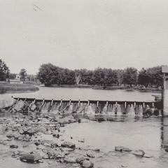 Hydroelectric dam on the Yellow River