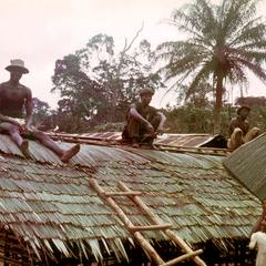 Roofing of House in Forest Zone