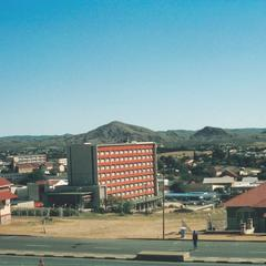 View of Windhoek, Capital of Namibia