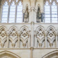 Beverley Minster nave triforium