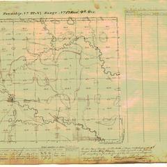[Public Land Survey System map: Wisconsin Township 22 North, Range 12 East]