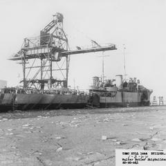 Construction of Ships at Walter Butler Shipbuilders, Inc.
