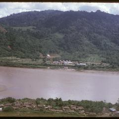 View toward Thailand