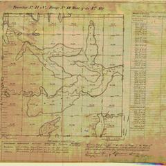 [Public Land Survey System map: Wisconsin Township 41 North, Range 12 West]