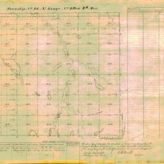 [Public Land Survey System map: Wisconsin Township 26 North, Range 09 West]