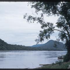 Overlooking the Mekong River