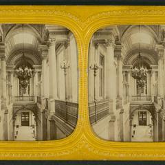 Les Tuileries : escalier d'honneur