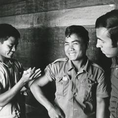 Houei Kong dispensary and chief medic in Attapu Province