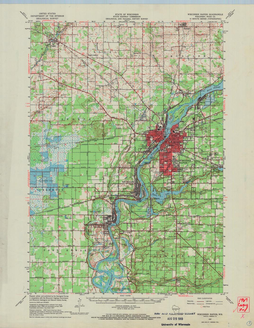 Wisconsin Rapids quadrangle