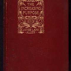 The increasing purpose