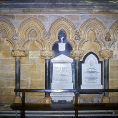 Beverley Minster nave aisle blind arcade