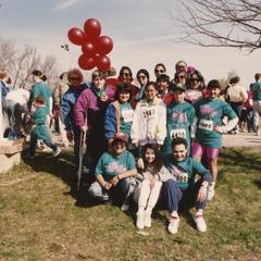 Runners at Cancer Society run