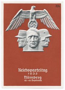 Reichsparteitag 1935 Nürnberg 10.-16 Septemb.