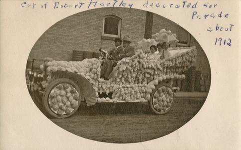Robert Harley's parade car