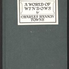 A world of windows and other poems