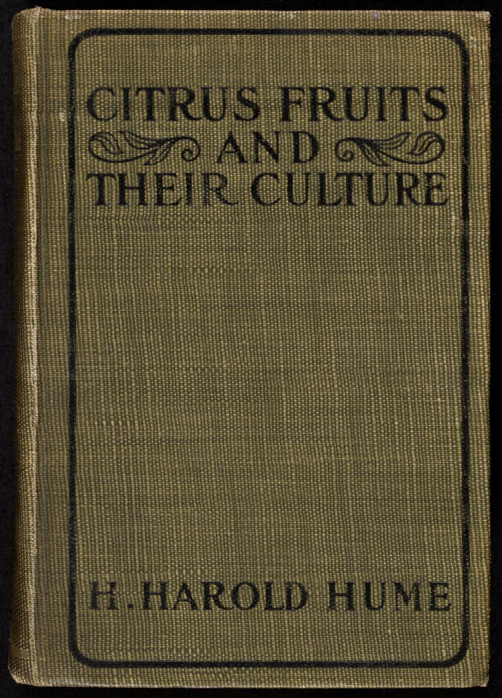 Citrus fruits and their culture (1 of 2)