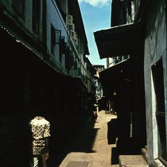 The Town of Stone (Mji wa Mawe) Section of Zanzibar Town
