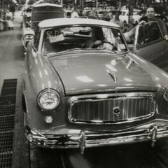 Rambler American on the assembly line