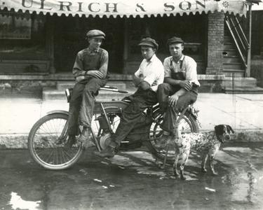 Boys on Motorcycle