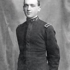E.B. Fred in uniform