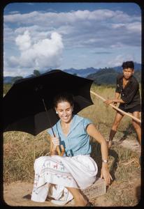 Nam Bak trip at airfield