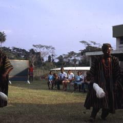 Yoruba Dondon dancers