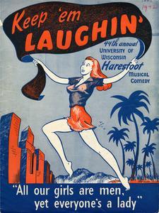 Haresfoot 'Keep 'em Laughing' program