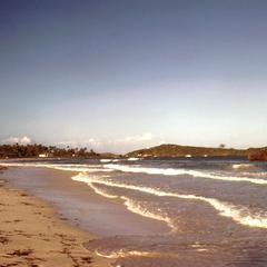 Turtle Bay Resort Area on the Indian Ocean Coast