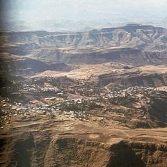 Aerial View of Lalibella