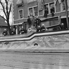 USS Cardinal Armistice Day Parade