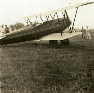 John Sullivan's first airplane