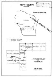 Pepin County, Wisconsin, land cover maps